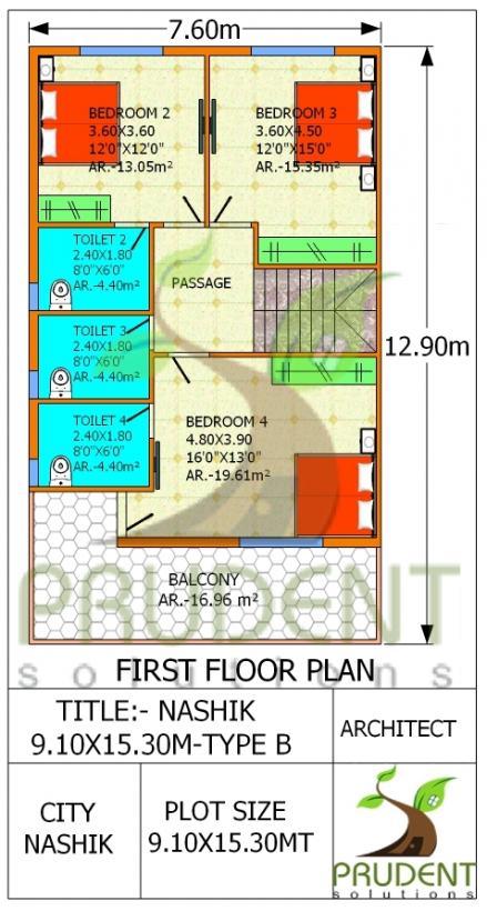 10x15 Room: NASHIK - 9.10x15.30 - PS - Type B